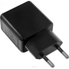 Ginzzu GA-3312UB, Black сетевое зарядное устройство + кабель micro USB