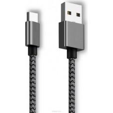 Ginzzu GC-152B, Black дата-кабель USB 2.0 - Type C (0,15 м)