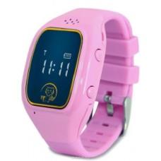 """Смарт-часы Ginzzu GZ-511 0.66"""" IPS, 00-00001161, розовый"""