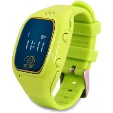 """Смарт-часы Ginzzu GZ-511 0.66"""" IPS, 00-00001160, зеленый"""