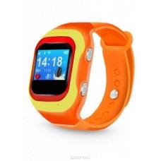 """Смарт-часы Ginzzu GZ-501 0.98"""" OLED красный/желтый (00-00000846)"""