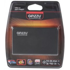 Картридер EXT GR-336B USB 3.0 Ginzzu