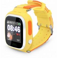 """Смарт-часы Ginzzu GZ-505 1.22"""" IPS, 00-00000980, желтый"""