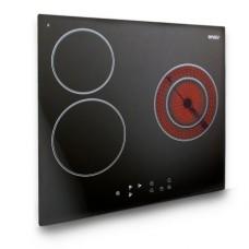 Варочная панель HCC-351, стеклокерамика 3 конф, черная