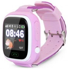 Детские часы-телефон Ginzzu 505 pink 1.22'' Touch micro-SIM 14717