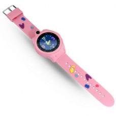 """Смарт-часы Ginzzu GZ-507 1.44"""" IPS, 00-00001094, розовый"""