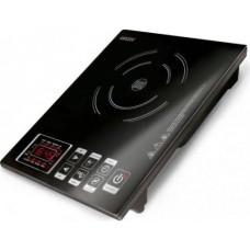 Плитка индукционная GINZZU HCI-131 черная, 2000Вт., сенсорное управление, 1 конфорка
