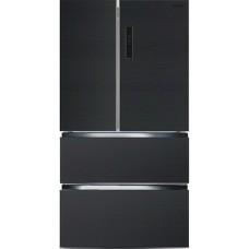 Многокамерный холодильник Ginzzu NFK-470 темно-серый