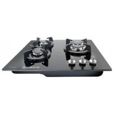 Встраиваемая варочная панель газовая Ginzzu HCG-279 Black