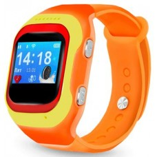 Детские часы-телефон Ginzzu 14224 501 orange  0.98''  micro-SIM