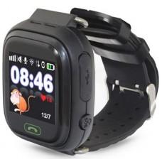 Детские часы-телефон Ginzzu 16139 505 black 1.22'' Touch  micro-SIM