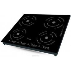 Ginzzu HCI-407, Black панель варочная индукционная встраиваемая