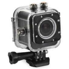action-камера и видеорегистратор GiNZZU FX130GL, в комплекте АЗУ и авто-держатель