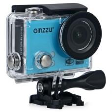 action-камера и видеорегистратор GiNZZU FX120GL, в комплекте АЗУ и авто-держатель