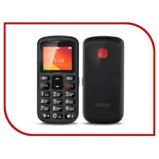 Сотовый телефон Ginzzu MB601 Black
