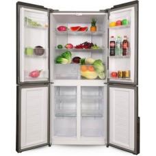 Многокамерный холодильник Ginzzu NFK-500 черный