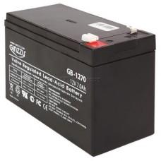 батарея аккумуляторная Ginzzu GB-1270, 12V 7.0Ah