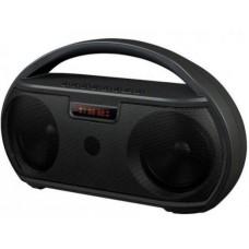 Ginzzu GM-879B {2x4BT, LED дисплей, 1800mah, 90Гц-18КГц, Handsfree, эквалайзер, AUX, microSD, USB-flash, FM-радио}