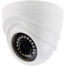 Камера Видеонаблюдения GINZZU HAD-1032O AHD 1.0Mp OV9732, 3.6mm,купол,IR 20м,пластик