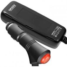 Автомобильное зарядное устройство Ginzzu GA-4514UB (QC 3.0+4x2.4A) 5xUSB черное